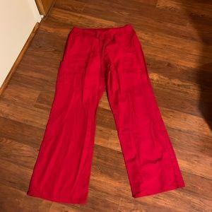 SN Red Scrub Pants